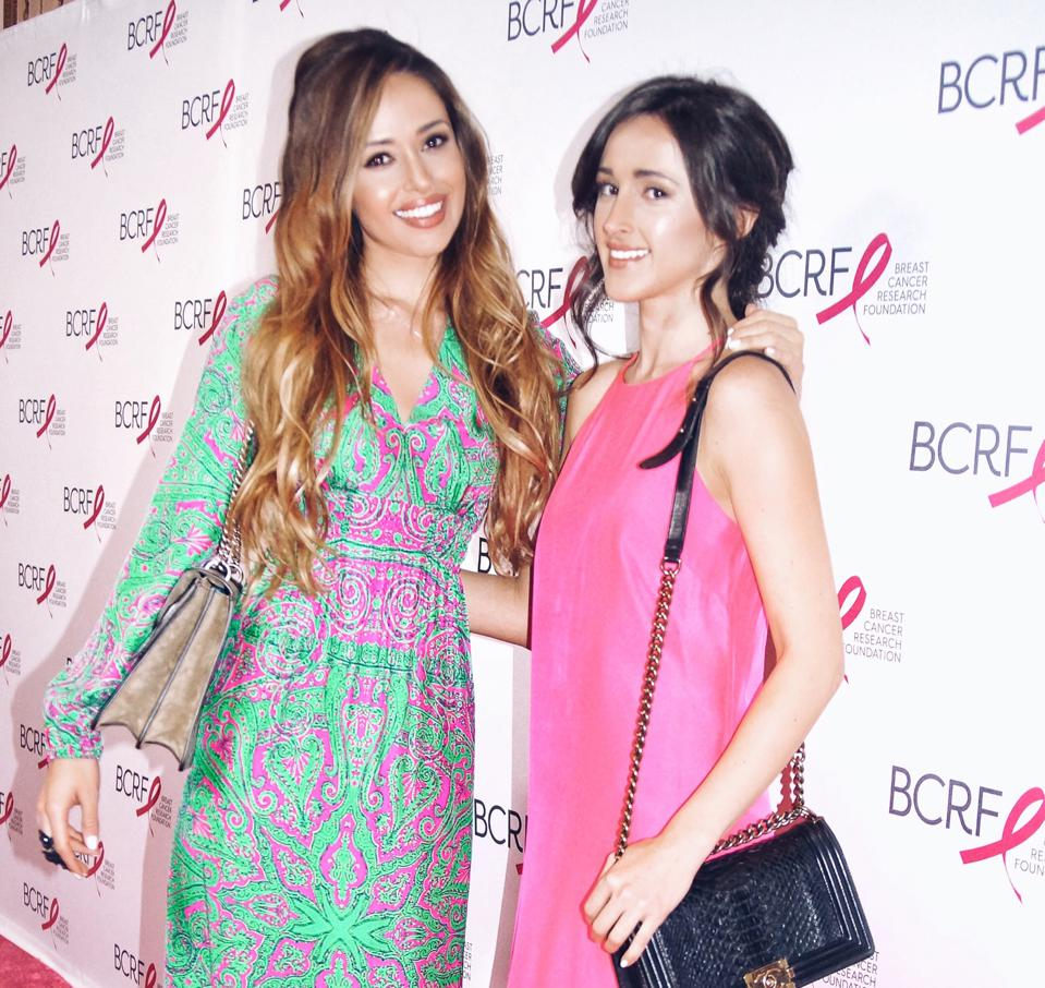 Amra and Elma Beganovich (From left to Right) at BCRF Gala