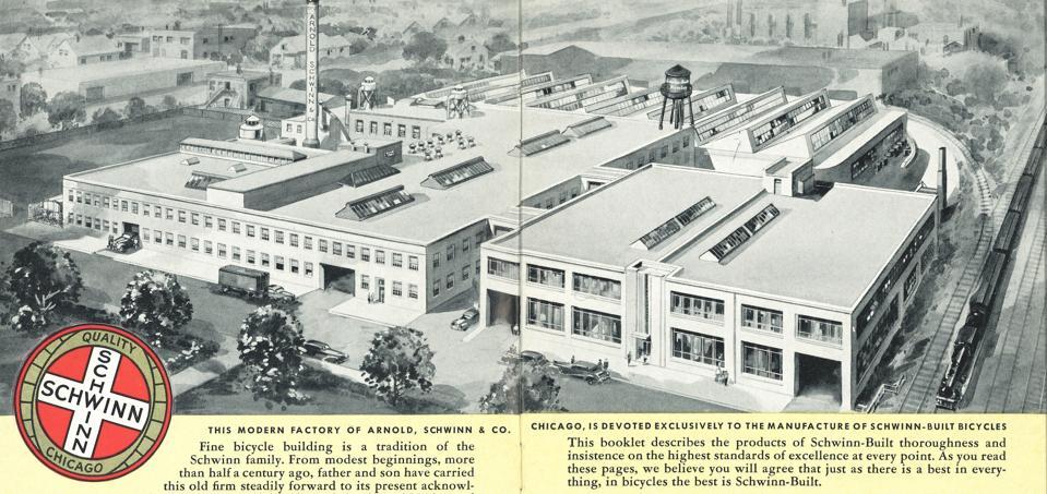 Schwinn factory Chicago.