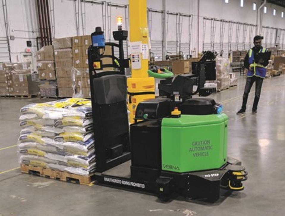 Vecna warehouse robot