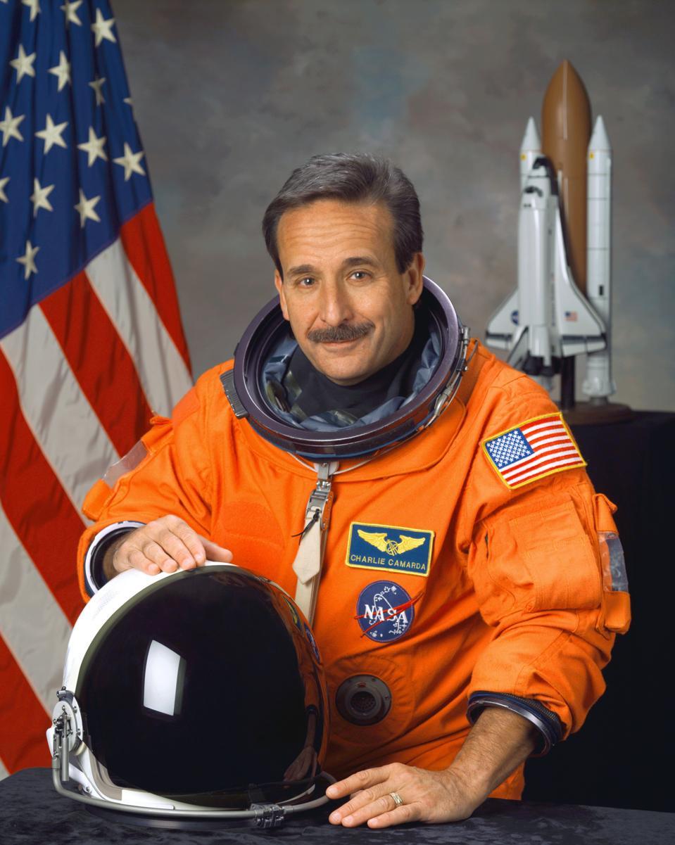 Dr. Charlie Camarda, astronaut.