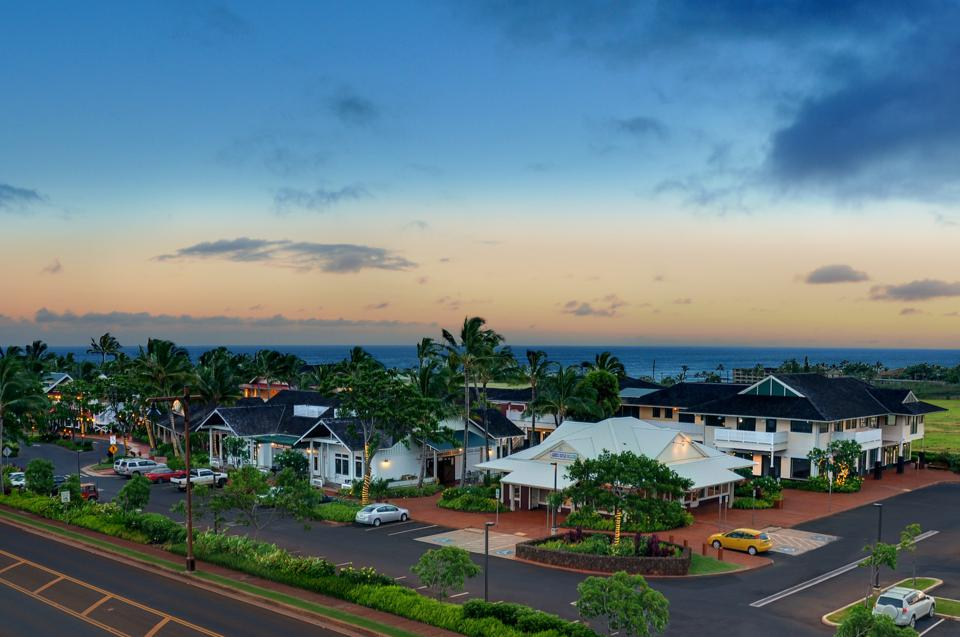 The Shops at Kukui'ula features many boutiques and restaurants and is located within a mile of the entrance to the club.