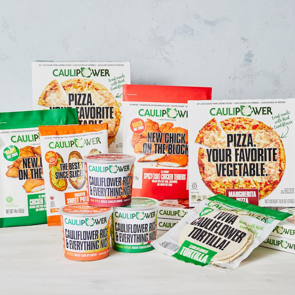 CAULIPOWER assortment of products.