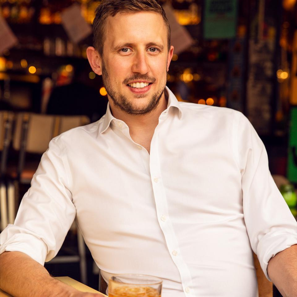 George Frost relaxes is confident that consumers will return to bars and restaurants