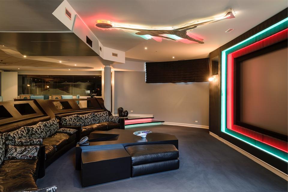 Air Jordan home theater