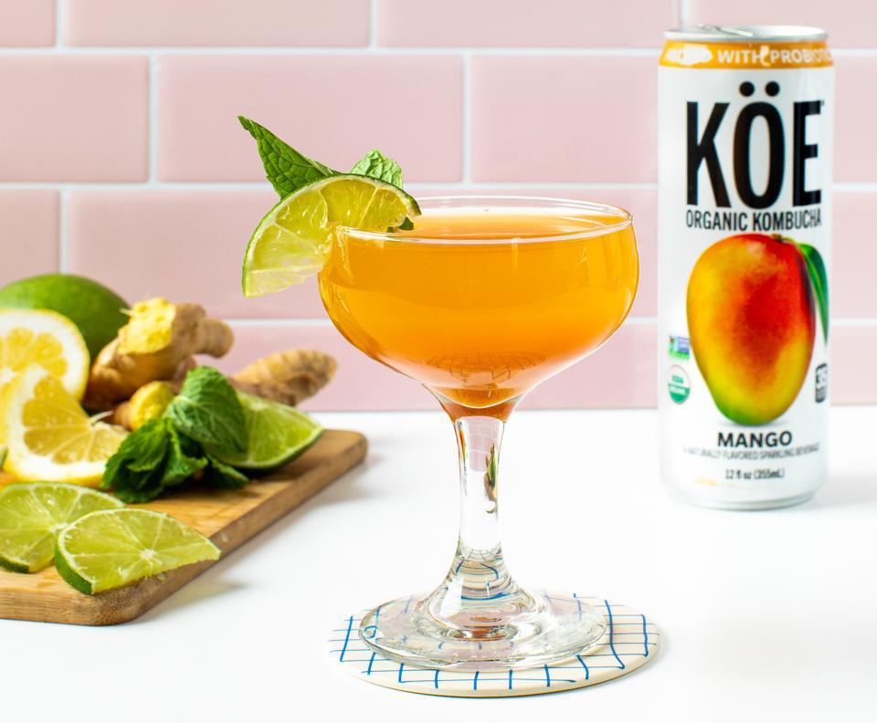 KÖE Kombucha Sparkling Mango organic