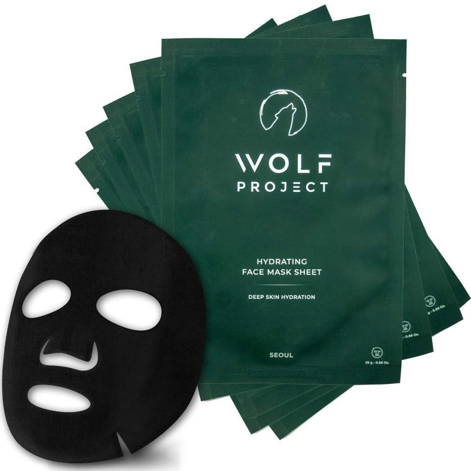 Wolf Project Hydrating Sheet Mask, Box of 5