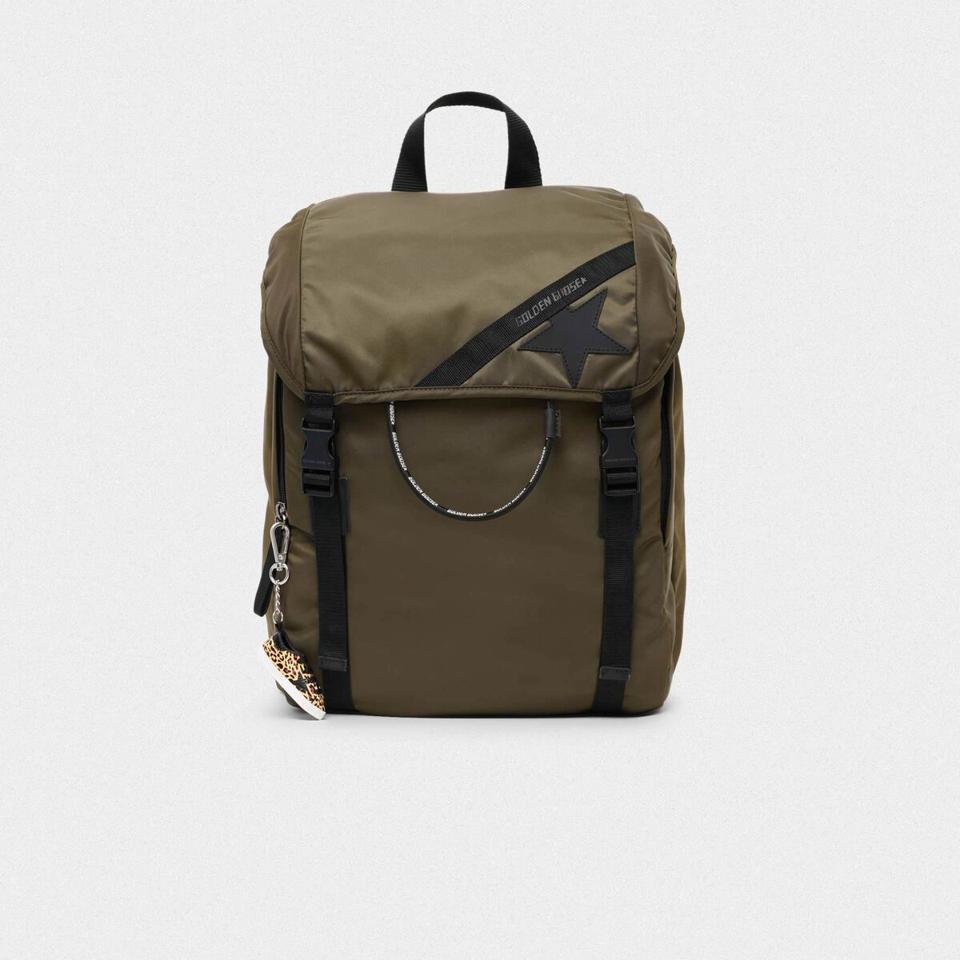 olive backpack
