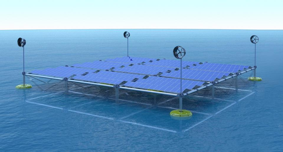 First Floating Ocean Hybrid Platform Can Generate Power From Waves, Wind And Solar