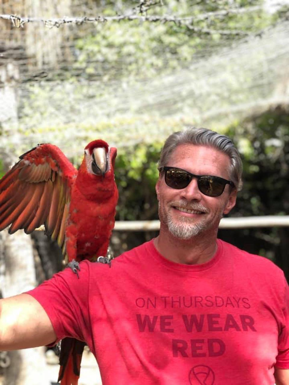 Alex and parrot.. really!