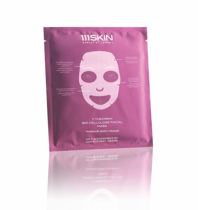 Y-Theorem bio cellulose mask, by 111Skin