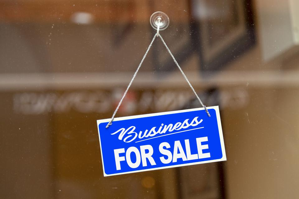 Business for sale - For sale sign