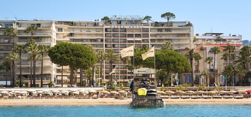 The former Grand Hotel Cannes will become a new Mondrian Hotel