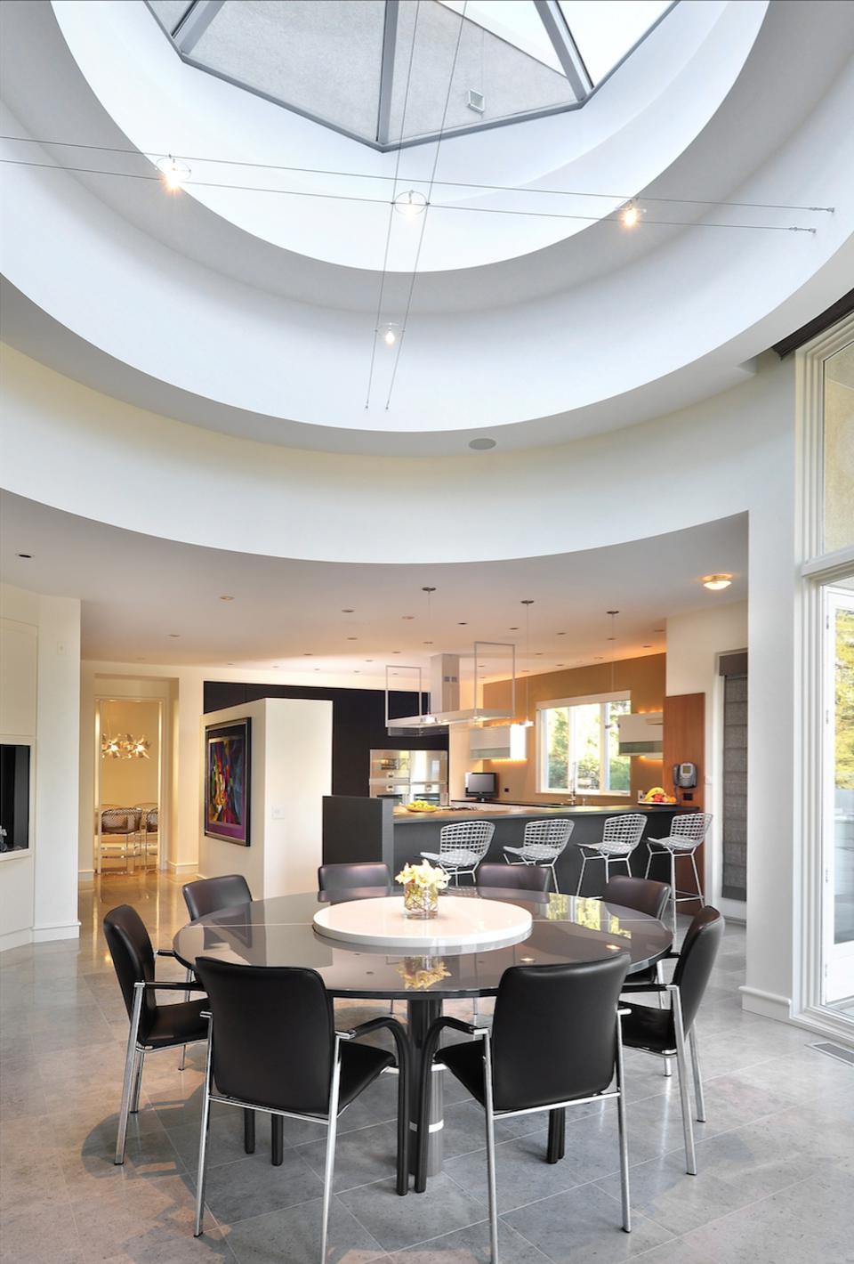 Breakfast room skylight