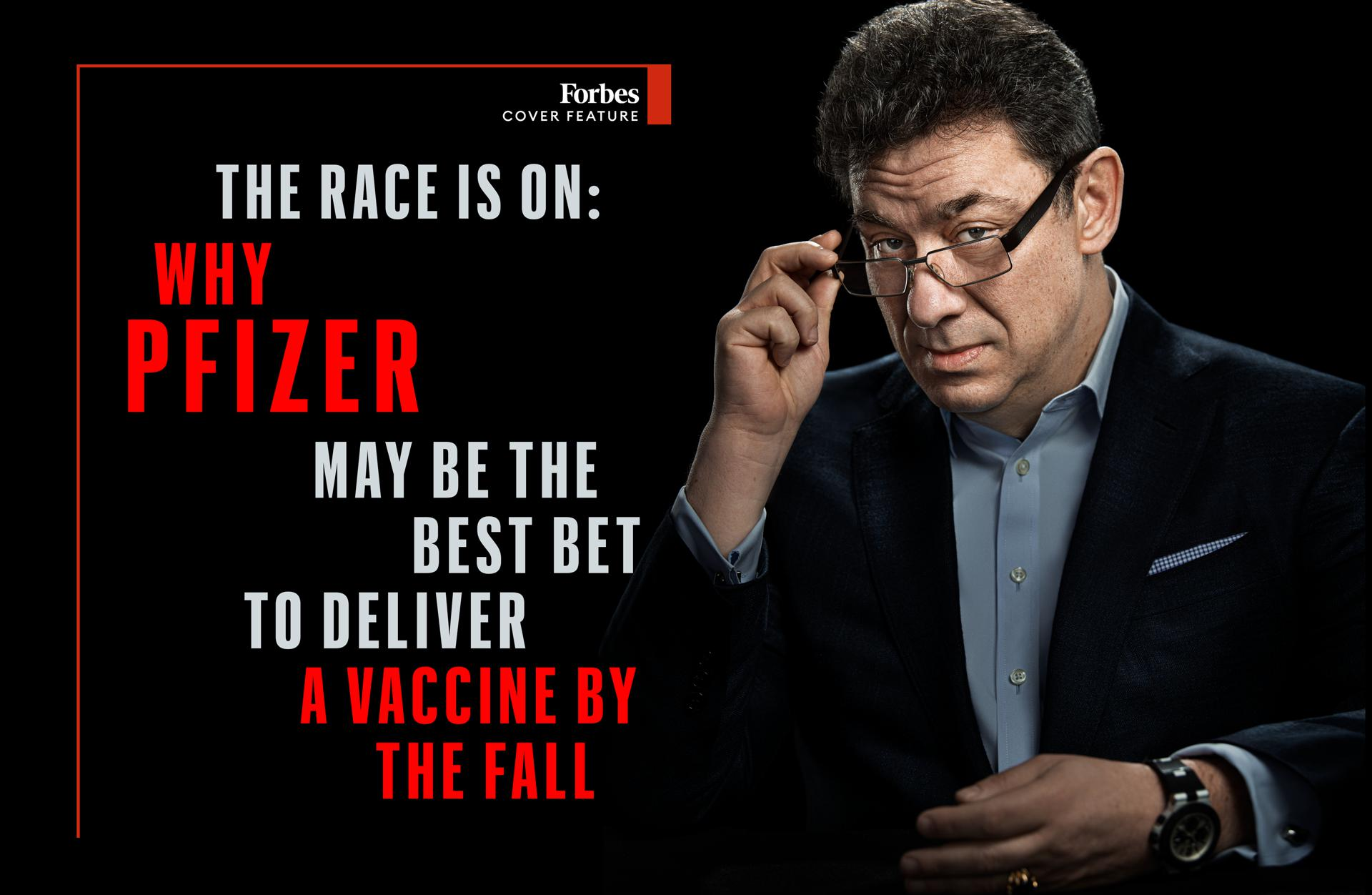 The Race Is On: Why Pfizer May Be The Best Bet To Deliver A Vaccine By The Fall