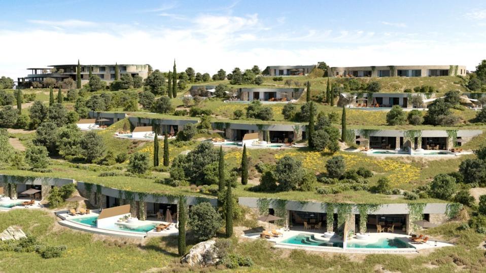 Navarino Bay Earth sheltered villas
