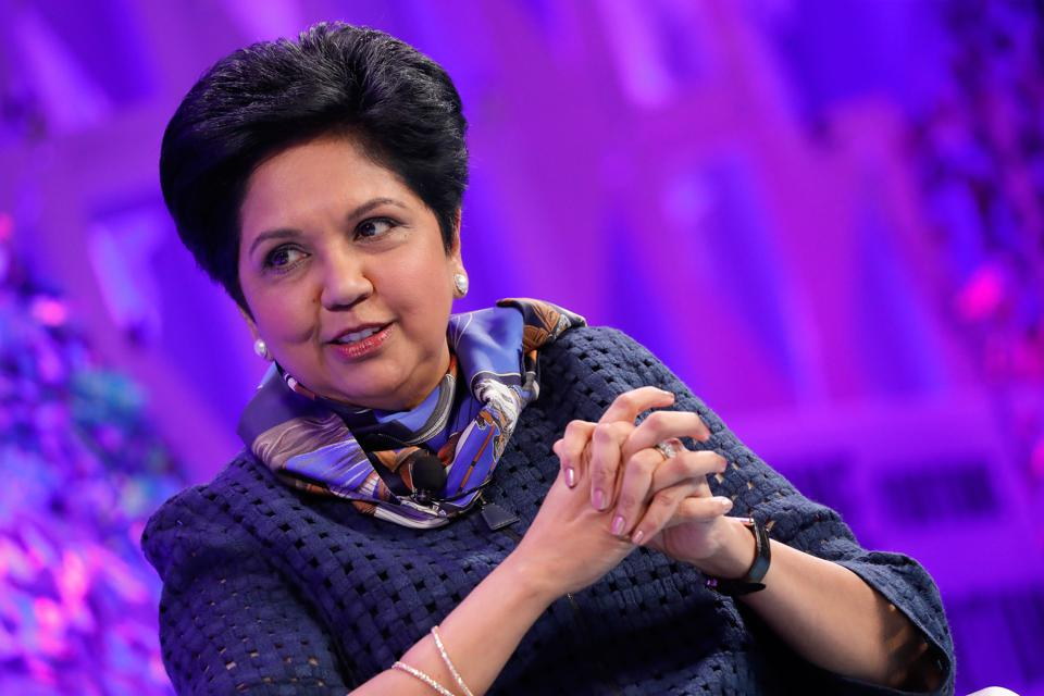 Former Pepsi Chairman and CEO Indra Nooyi. Photo by Paul Morigi