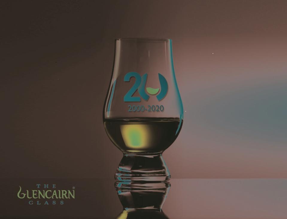 Glencairn 20th Anniversary Glass