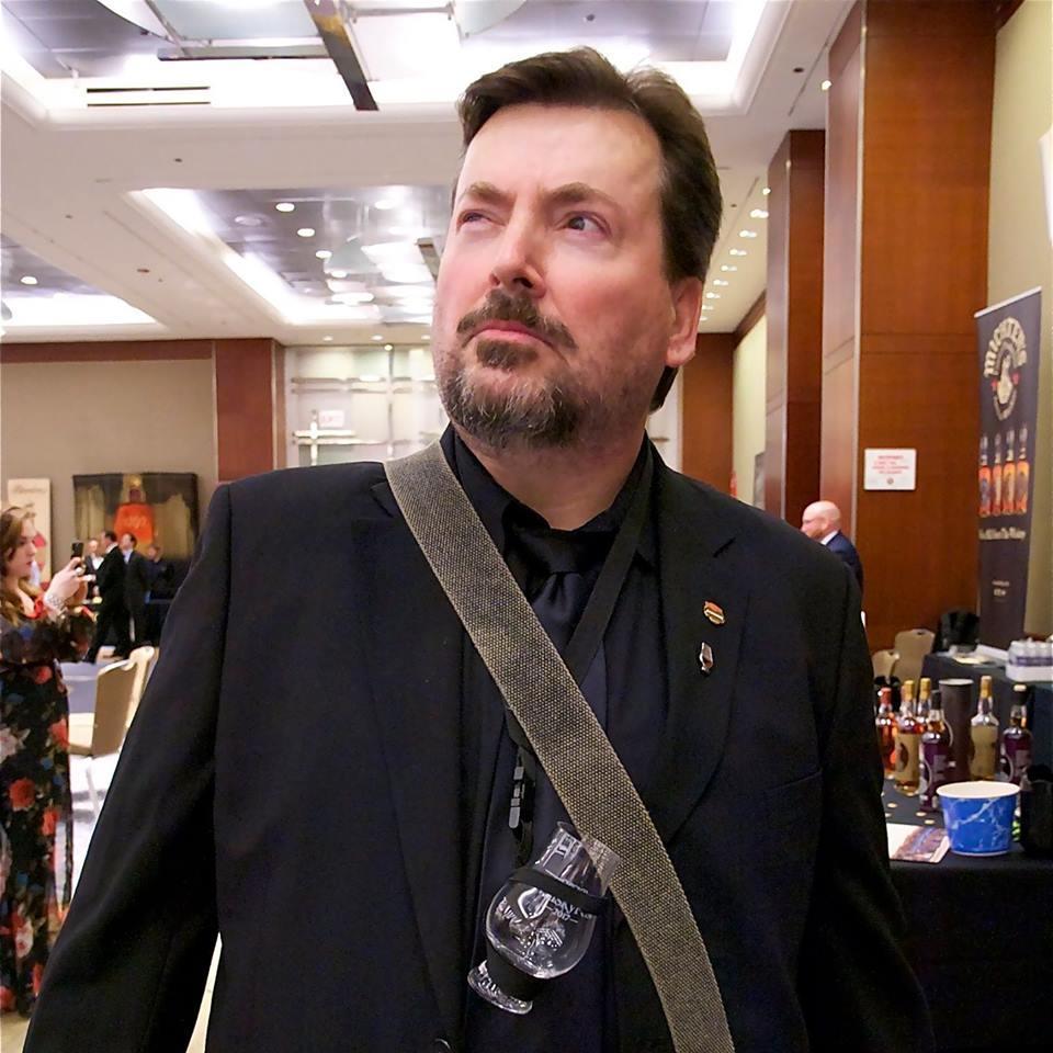 Martin C. Duffy, North American Brand Representative for Glencairn Crystal