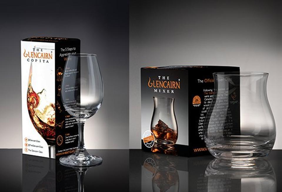 Glencairn Copita & Mixer Glasses