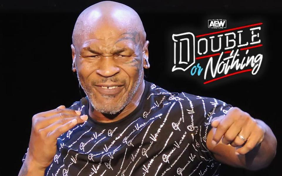 AEW Double or Nothing Mike Tyson WWE