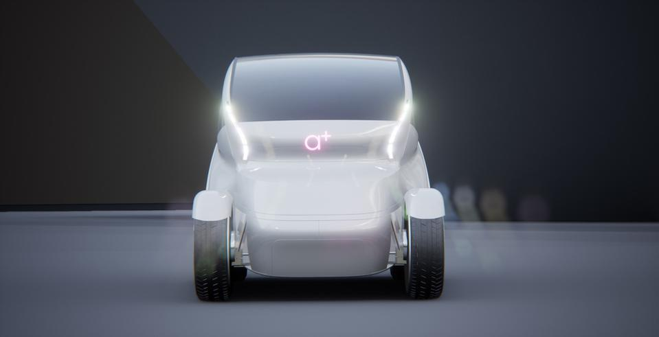 Iris was shown as part of VW's ″Future Technology for Car Design″