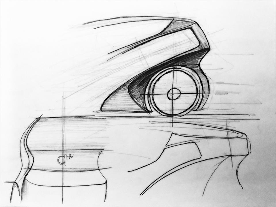 Early sketches for Iris by Arturo Tedeschi