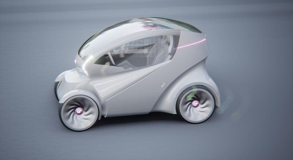 Iris is a concept car by Arturo Tedeschi using the computational design process
