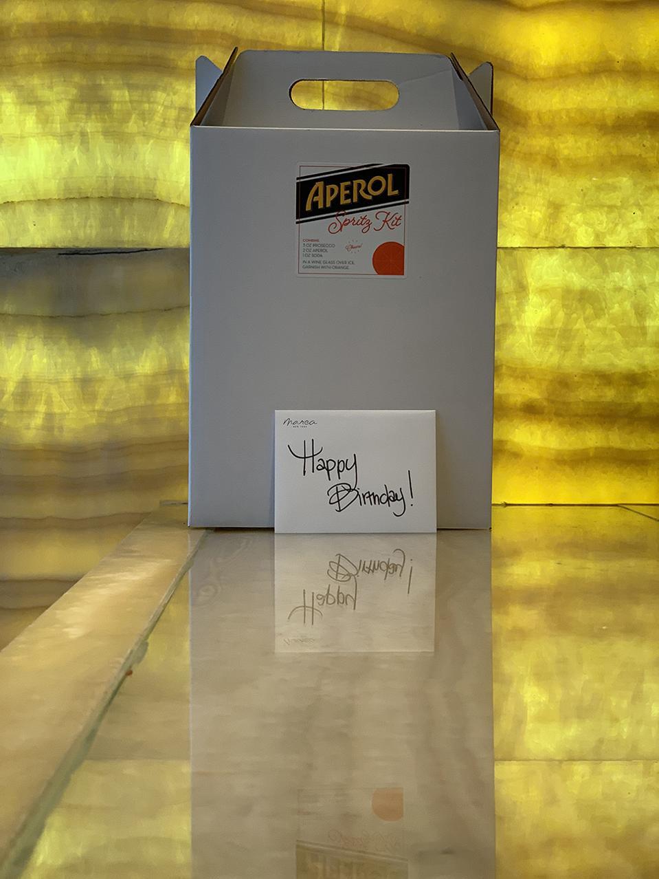 Aperol spritz kits