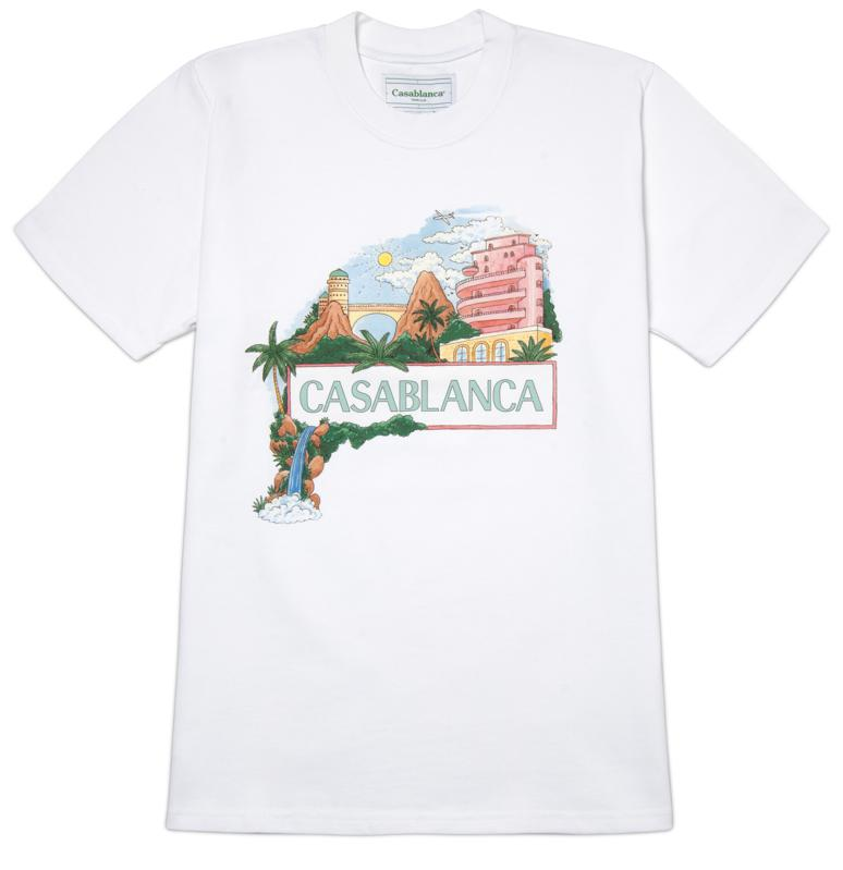 CASABLANCA 'Casa Views' T-Shirt