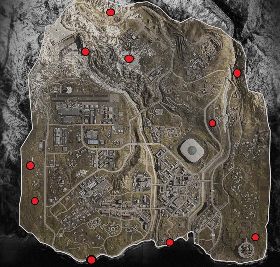 Call Of Duty Warzone Bunker Locations Where To Find Bunkers And