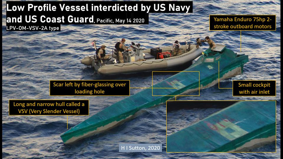 Narcosub seized by joint US Navy and USCG team on May 14 2020