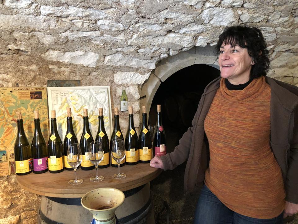 French winemaker, women in wine, organic wine