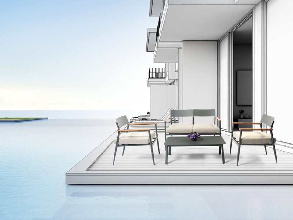 AllModern patio set