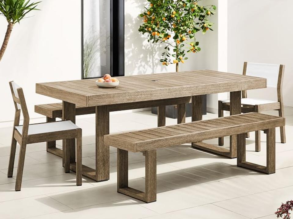 West Elm outdoor dining set