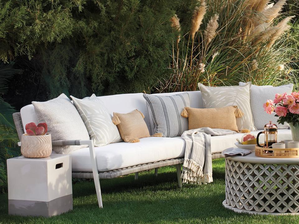 Serena & Lily outdoor sofa