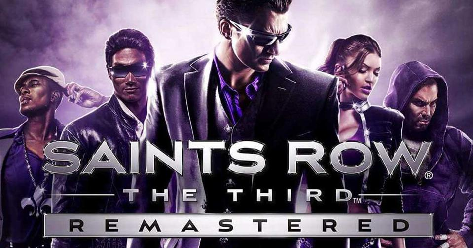 Saints Row the Third Remastered logo