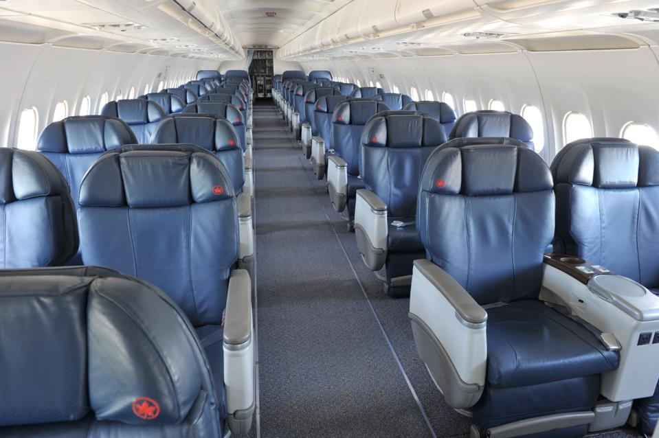 Flights With Only Business Class Seats Help Travel Resume At Air Canada Post Coronavirus