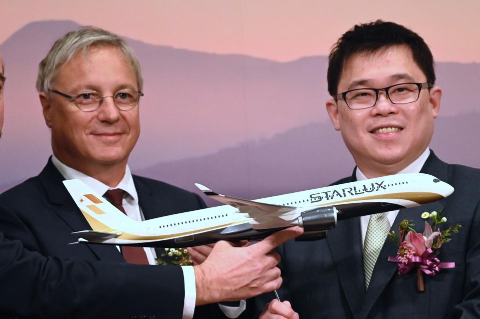 TAIWAN-FRANCE-AIR-STARLUX