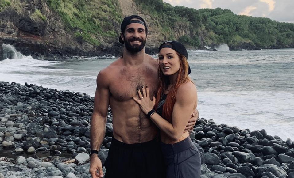 Becky Lynch WWE Seth Rollins Marriage Fiance Jim Cornette