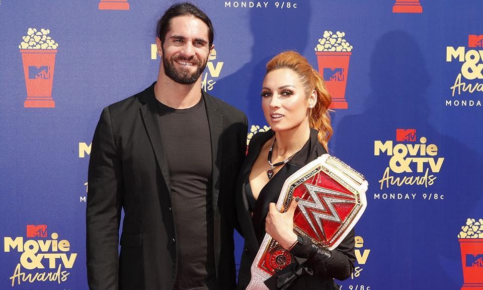 Becky Lynch Pregnancy Seth Rollins Jim Cornette WWE AEW OVW TNA ROH