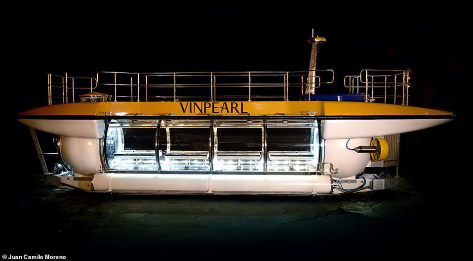Vinpearl's new submarine.