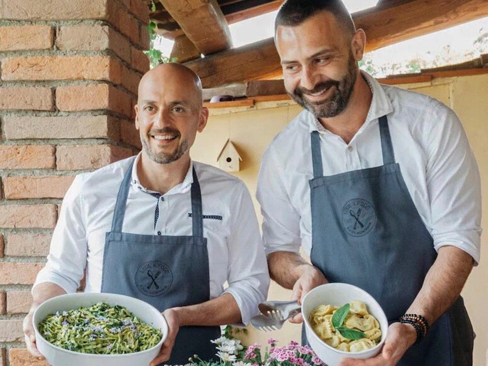 Italy pasta Airbnb