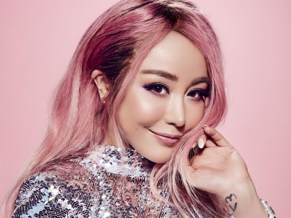 Wengie pink promotional photo for Futurecon 2020