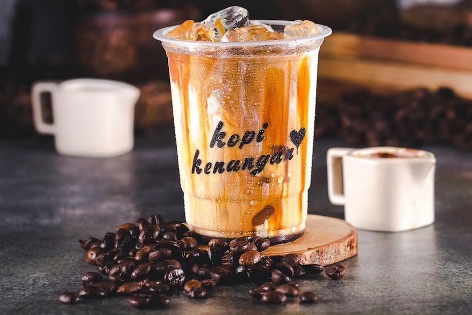 Kopi Kenangan coffee