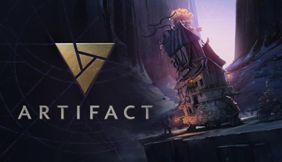 The key art for Artifact from Valve.