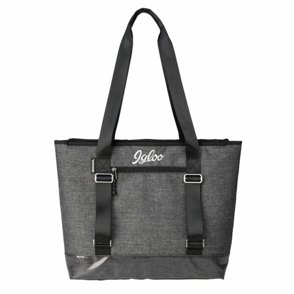 Igloo grey tote cooler bag