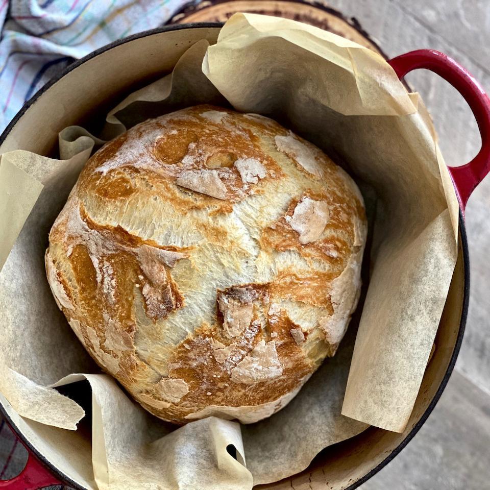 Anna Francese Gass's sourdough bread