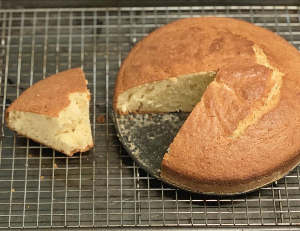 Dominique Ansel's gâteau au yaourt