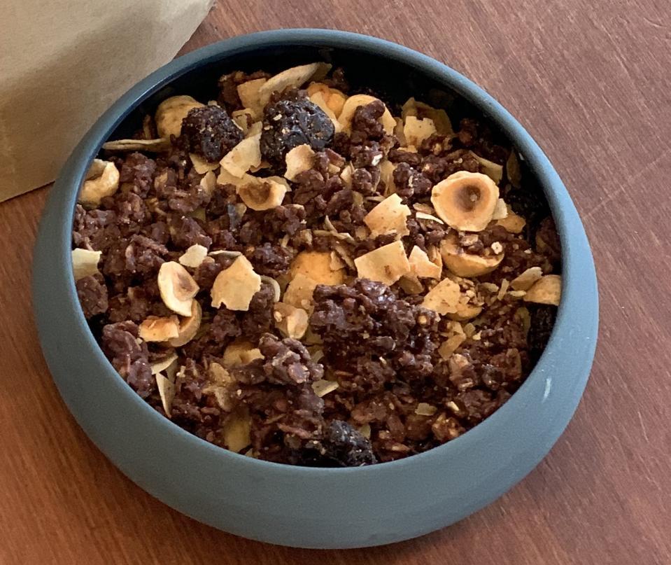 Dandelion Chocolate's breakfast granola