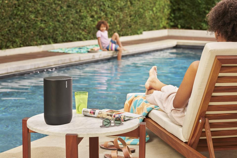 Sonos Move 2 by the pool